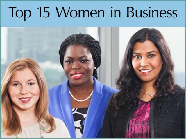 Top 15 Women in Business Award