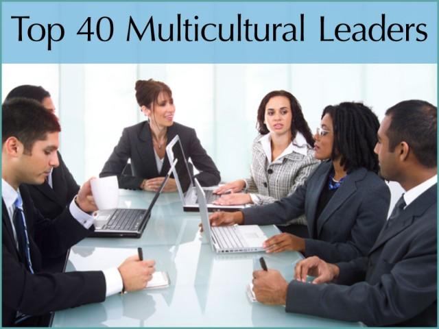 Top 40 Multicultural Leaders Award