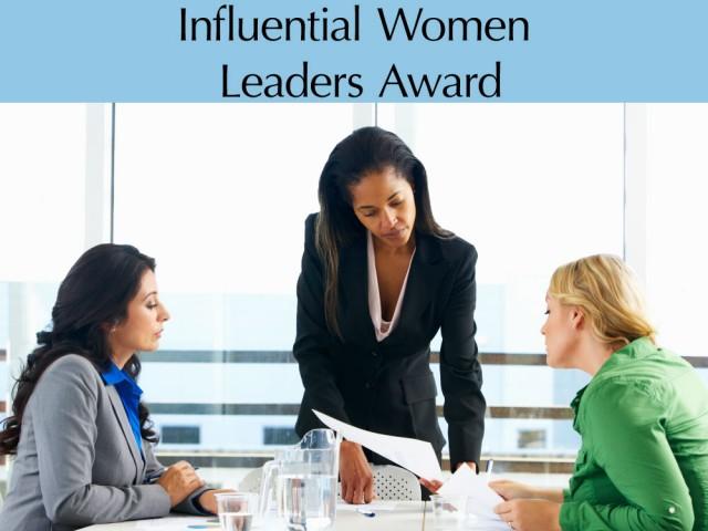 Influential Women Leaders Award