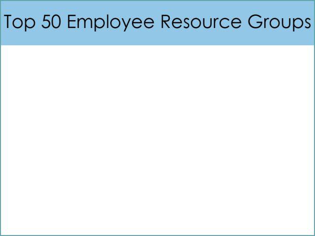 Top 50 Employee Resource Groups