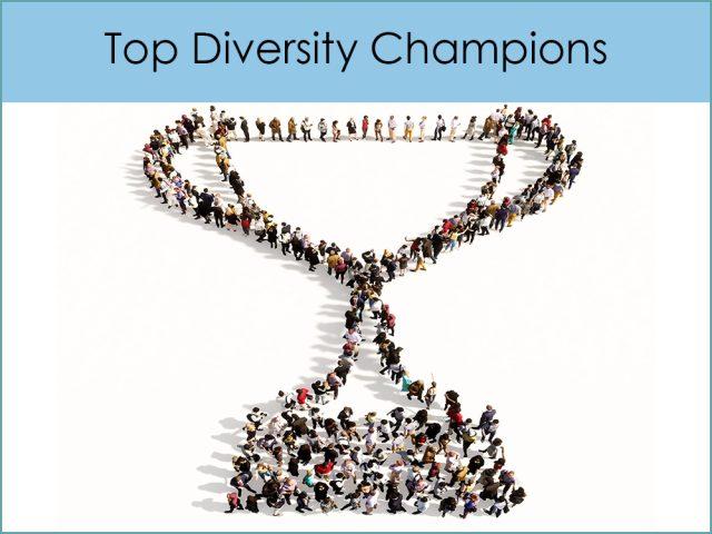 Top Diversity Champions Award